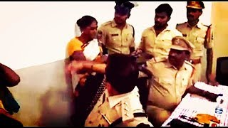 Acp Slaps Lady In Hyderabad Begumpet | Action Taken Against Acp | @ SACH NEWS |