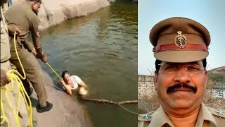 Youngster Jumps In Lake | Circle Inspector Jumps In Lake For Saving The Youngster Life |