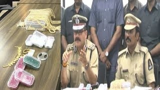 3.5 Kg Gold Robbery | Gang Leader Arrested By Hyderabad City Police | Native Of Mumbai |