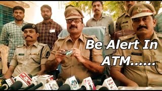 Be Alert In ATM | Most Wanted Thief Arrested Mastermind In Attention Diverting At ATM's |