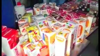 Duplicate Medicines Of 25 Lakhs Seized | Raid At Duplicate Medicines Making Company In Hyderabad |