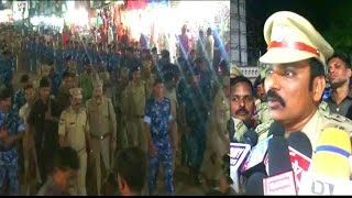Hanuman Jayanti Juloos Bandobaz By Dcp South Zone In Old City | @ SACH NEWS |
