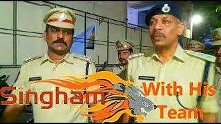 Dcp South Zone V Sathyanarayana Does Cardon Search With His Team In Santoshnagar | @ SACH NEWS |