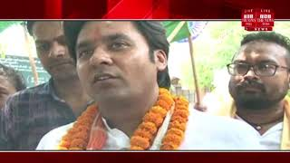Agra ]The journey of the martyr monument of Agra will reach Meerut further by taking soil from there