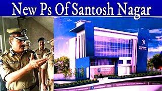 Cp Anjani Kumar Visits The Under Construction Police Station Of Santosh Nagar   @ SACH NEWS  
