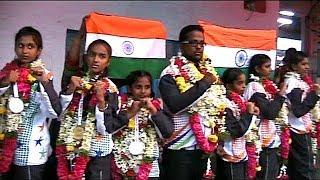 Hyderabad Girls Represented India In International Taekwondo Championship Held In Thailand .