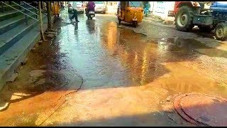 Drainage Flow Leads To A Big Problem For School Students In Mangalhat.