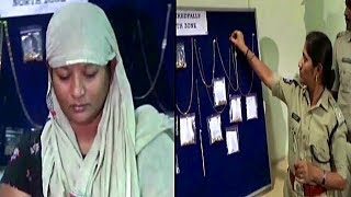 Khiladi Lady | The Lady Thief Arrested By Hyderabad North Zone Police | @ SACH NEWS |