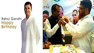 Rahul Gandhi Birthday Celebrated In Hyderabad | Congress Leaders Cut Cakes In Different Areas Of Ts