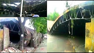 CBS Bus Stan Collapse | 80 Years Old Bus Stan In Hyderabad | @ SACH NEWS |