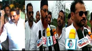 Kiran Kumar Reddy Back In Congress Grand Welcome At RGI Airport By Tpcc Leaders