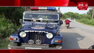 [ Pilibhit News ] Pinchwar collided with a tractor-trolley near Gurudara of Pilibhit
