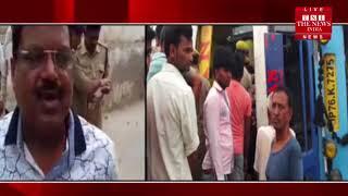 [ Mainpuri ] मैनपुरी में भीषण हादसा, डिवाइडर से टकरा कर पलटी बस 17 लोगों की मौत