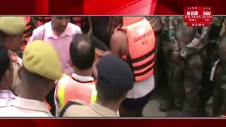 [ Ballia News ] Relief and rescue team saved two people drowning in Ganga river of Ballia