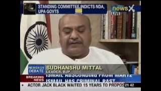 Sudhanshu Mittal Speaks On Coalgate Scam & China's Incursion in Ladakh (NewsX 23-04-2013)