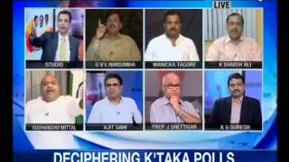 Sudhanshu Mittal Speaks On C-Voter Opinion Poll On Karnataka Vidhan Sabha Election(NewsX 25-04-2013)