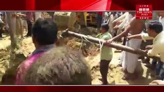 Muzaffarnagar News]Due to the collapse of the Kue soils in Muzaffarnagar suddenly got a big accident