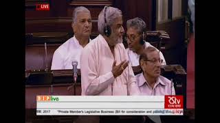 Dr. Kailash Soni on The Parliament (Enhancement of Productivity) Bill, 2017 : 03.08.2018