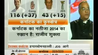 Yeddy Effects On Karnataka Results 2013 (NDTV INDIA 08-05-13)