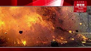 [ Delhi  shakurpur cylender blast ] दिल्ली के शकूरपुर में सिलेंडर फटा, युवक गंभीर रूप से झुलसा