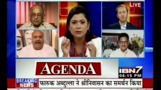 Politicians Associated With BCCI Parry Questions On Srinivasan Ouster. (IBN7 28-05-13)