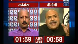 Will Case Against Raghav Ji Dent The BJP's Image In Coming Elections ?(ABP News 09-07-13)