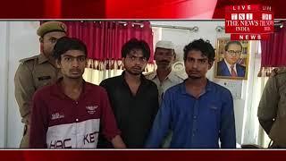 Shamli ] Police revealed the theft in Hanuman temple located at Chowk Bazar in Shamli