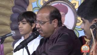 Hasmukhbhai,Niladri,Anmol & Nirvesh  At Ratnakar Sanman Samaroh Sardhar 2014