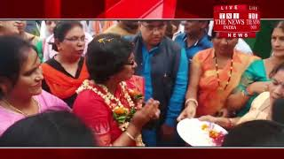 [ Dhamtari ] BJP women's rally in Ratnama Bandha Sahu Bhavan in Dhamtari