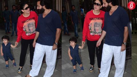 Kareena Kapoor Khan & Saif Ali Khan Take Taimur For A Playdate With Inaaya!
