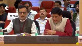 Piyush Goyal holds 29th GST Council meet at Vigyan Bhawan