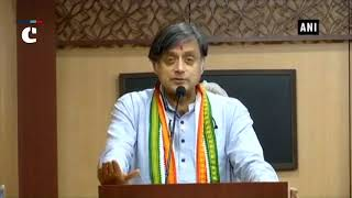 MJ Akbar once told me BJP a dangerous party, worst communal instincts, says Shashi Tharoor