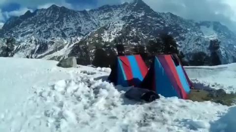Snowline Triund - Dharamshala - A. Kalady