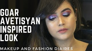 GOAR AVETISYAN INSPIRED MAKEUP LOOK