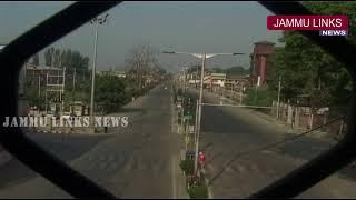 Article 35-A: Complete shutdown in Kashmir