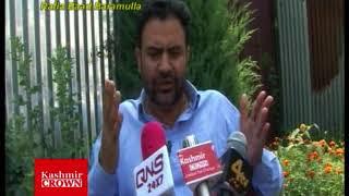 Senier Congress Leader Altaf Malik Talking To Media ,Rezwan MIr