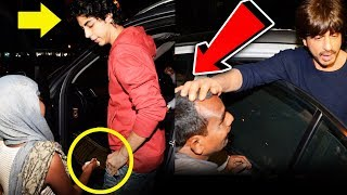 What Shahrukh Khan And His Son Aryan Did When BEGGAR Asked For Money | Heartmelting Video