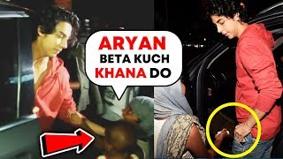 Beggar Asks For Food From Shahrukh Khan's Son Aryan, What Happens Next Will Melt Your Heart