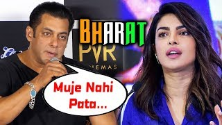 Salman Khan's FIRST REACTION On Priyanka Chopra Leaving BHARAT