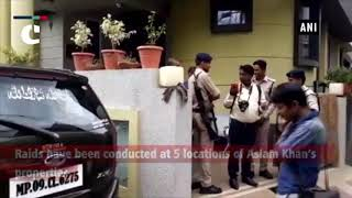 Madhya Pradesh: Lokayukta raid at municipal corporation employee in Indore