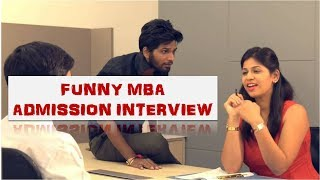 The Most Funny MBA Interview Ever | CafeMarathi