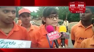 [Allahabad ] इलाहाबाद में एक संस्था ने साफ- सफाई का आभियान करते हुए लोगो को सफाई के लिए  किया जागरूक