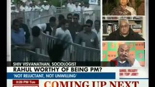 Rahul Ready for Top Job: Rahul Worthy of Being PM of India?(HEADLINE TODAY 14-01-14)