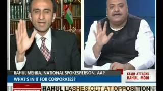 Who Is Funding The Choppers for Modi and Rahul's Poll Campaigns? (Headline Today 24-02-14)