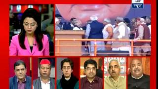 Is Narendra Modi Afraid of Third-Front? (ABP NEWS 02-03-14)