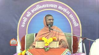 Vachanamrut Vivechan At Satsang Chhavani 2015 Day 3