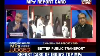 MPs Report Card: Are Most MPs Failing to Meet Expectations of Their Voters?(CNN IBN 18-03-14)