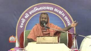 Vyakhyanmala By Pujya Yogeshvar swami At Satsang Chhavani Sardhar 2015