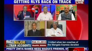 Rajdhani Express Accident: Can The Modi Govt. Bring Railways Back on Track?(CNN IBN, 25-June-14)