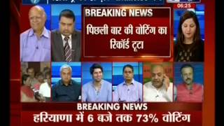 Who Will Form Govt in MH and HR?Axis Exit Poll Gave BJP an Edge in Maharashtra(IndiaNews,15Oct14)-F